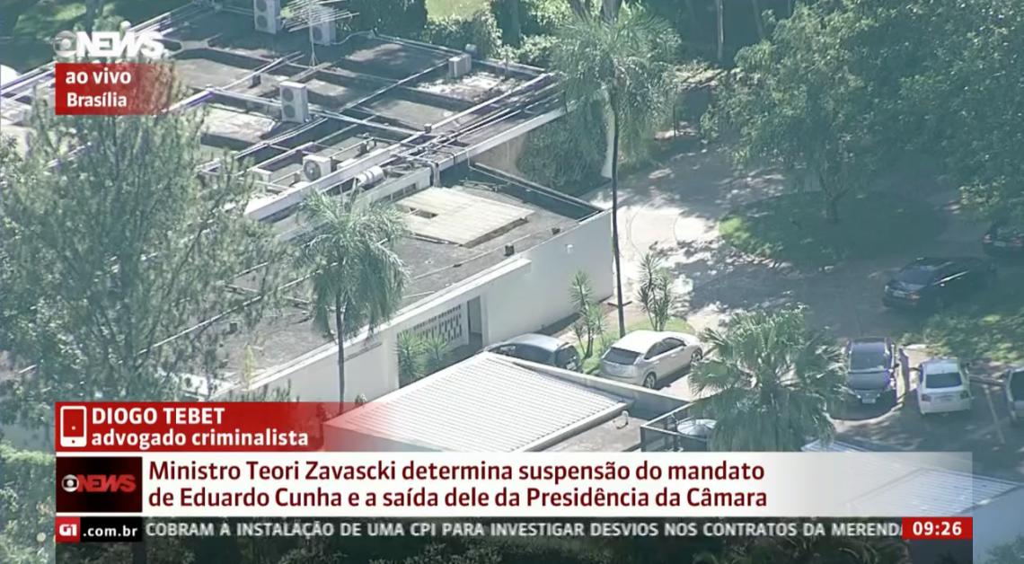 Globo News] Diogo Tebet comenta suspensão de mandato de Eduardo